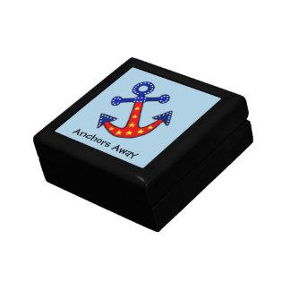 Anchors Away Jewelry Box