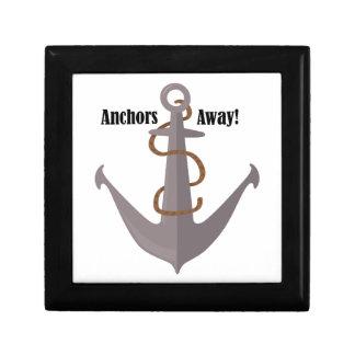 Anchors Away! Jewelry Box
