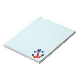 Anchors Away Notepad