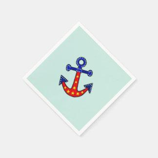 Anchors Away Paper Napkin
