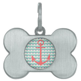 Anchors Away Pet ID Tags