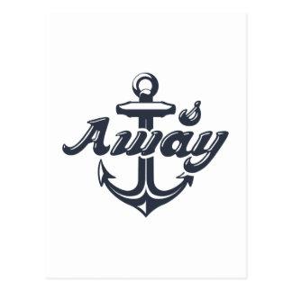 Anchors Away Postcard