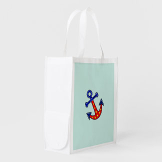 Anchors Away Reusable Grocery Bag