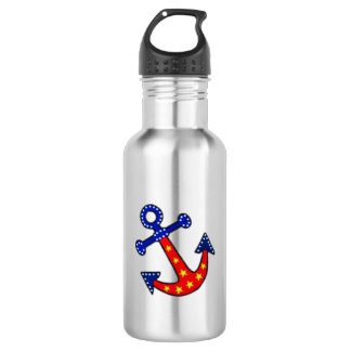 Anchors Away Stainless Steel Water Bottle