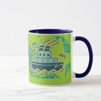 Anchors Away Tugboat Tshirts and GIfts Mug