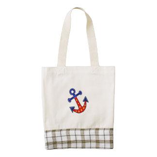 Anchors Away Zazzle HEART Tote Bag