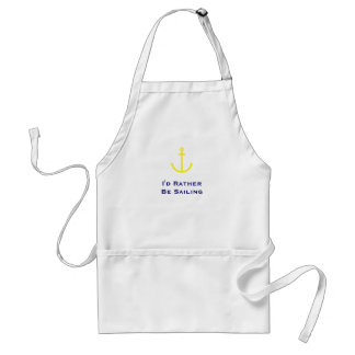 Anchors Aweigh Adult Apron