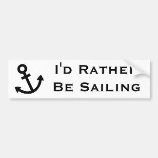 Anchors Aweigh Bumper Sticker