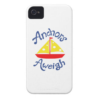ANCHORS AWEIGH Case-Mate iPhone 4 CASES