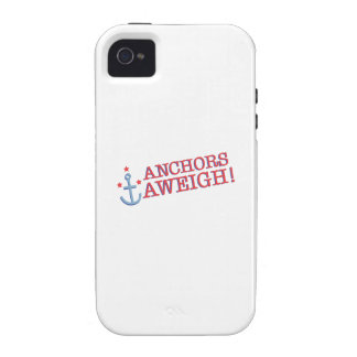 Anchors Aweigh! iPhone 4/4S Covers