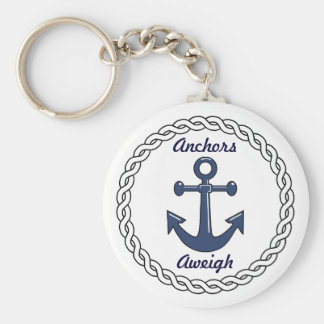 Anchors Aweigh Keychain Keychain