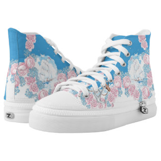 Anchors Aweigh (navy) High-Top Sneakers