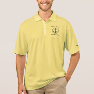 Anchors Aweigh Personalized Polo Polo T-shirt