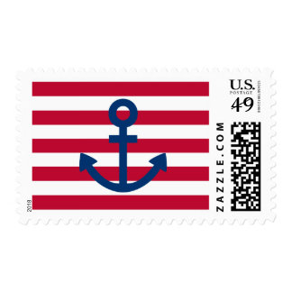 Anchors Aweigh Postage Stamps
