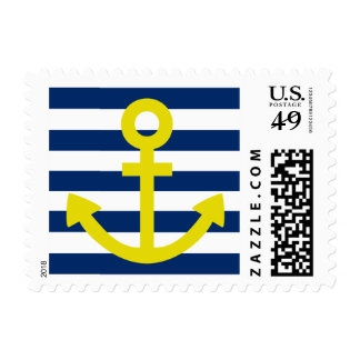 Anchors Aweigh Postage Stamp