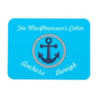 Anchors Aweigh Stateroom Door Marker Vinyl Magnets