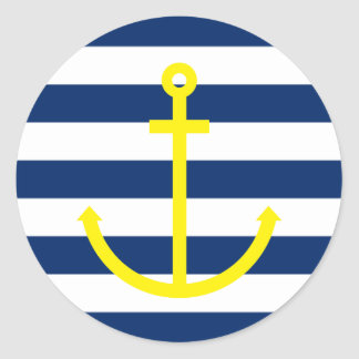 Anchors Aweigh Sticker