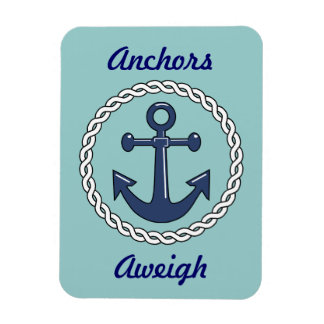 Anchors Aweigh Vert. Stateroom Door Marker Magnet