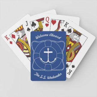 Anchors & Life Saver Playing Cards (Lite Print)