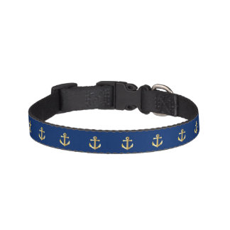 Anchors Sea Dog Collar