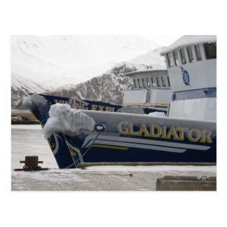 Anchors with Freezing Spray, Dutch Harbor, AK Post Card