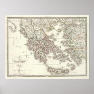 Ancienne de Grece - Grecia antigua Póster