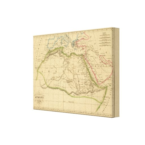 Ancient Africa Canvas Print