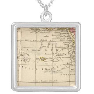 Ancient Africa Square Pendant Necklace