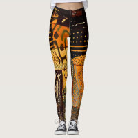 Ancient African Cloth Leggings
