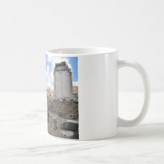 Ancient Agora temple pillar ruins Coffee Mug
