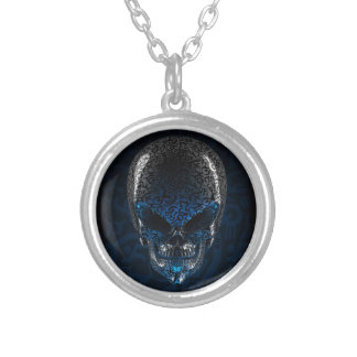 Ancient Alien Skull Necklace
