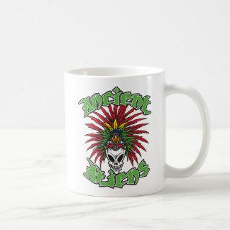 Ancient Aliens Skull Classic White Coffee Mug
