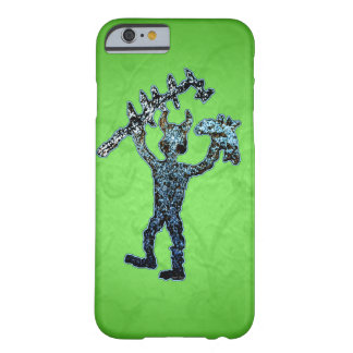 Ancient American Petroglyph Mighty Warrior Barely There iPhone 6 Case