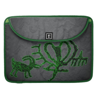 Ancient American Petroglyphs Cupid's Goat Sleeve For MacBook Pro