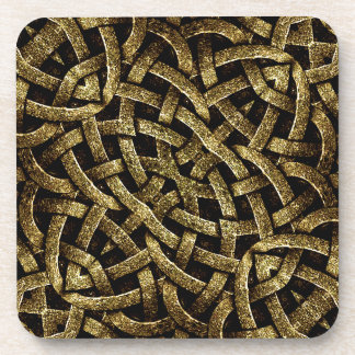 Ancient Arabesque Stone Ornament Drink Coasters