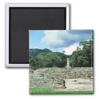 Ancient Archeological Site Copan Honduras Photo Magnet