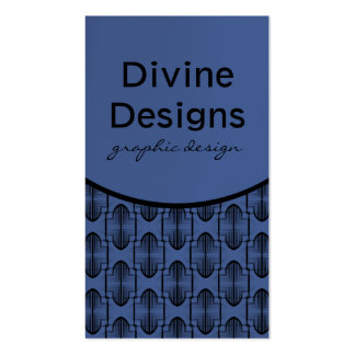 Ancient Arches Business Card, Blue Business Card