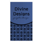 Ancient Arches Business Card, Blue Double-Sided Standard Business Cards (Pack Of 100)