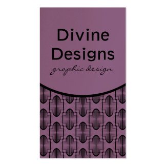 Ancient Arches Business Card, Lavender Business Card