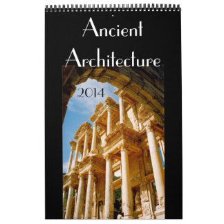 ancient architecture 2014 wall calendars