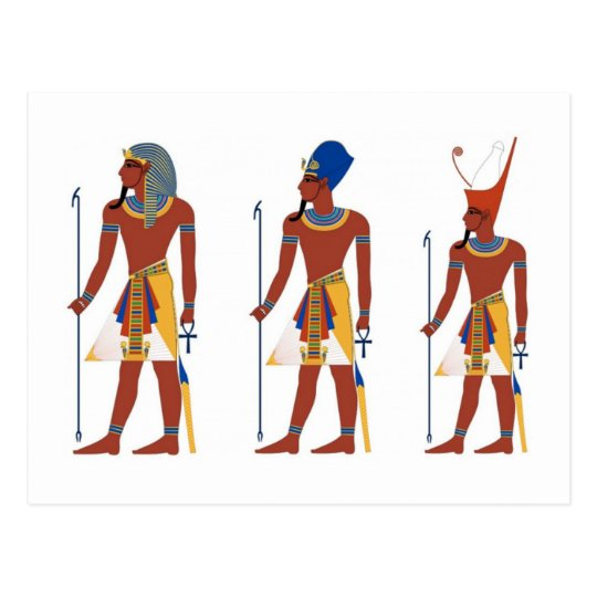 ancient art style 1 postcard