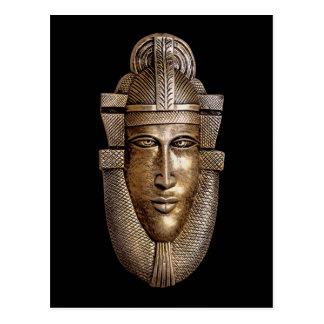 ancient art style postcard