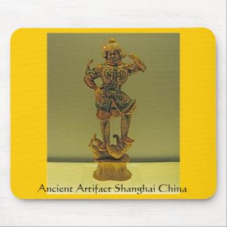 Ancient Artifact Shanghai China Mouse Pad