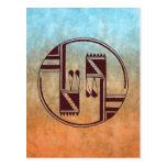 Ancient Arts Native American Postcard
