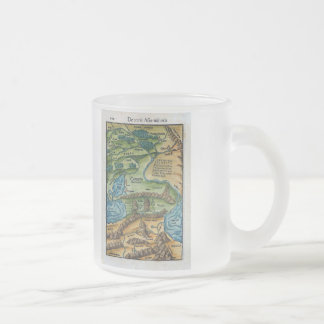Ancient Asia Minor 10 Oz Frosted Glass Coffee Mug