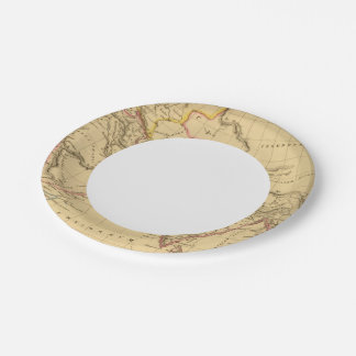 Ancient Asia 7 Inch Paper Plate