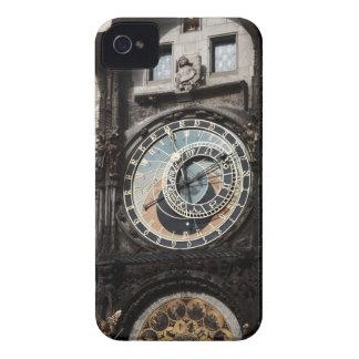 Ancient Astrology Timepiece Clock in Prague Czech iPhone 4 Case-Mate Cases