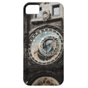 Ancient Astrology Timepiece Clock in Prague Czech iPhone 5 Covers
