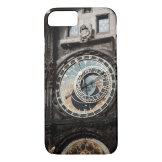 Ancient Astrology Timepiece Clock in Prague Czech iPhone 7 Case