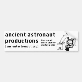Ancient Astronaut Productions logo Bumper Sticker